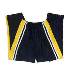 Vintage 90s Stripe Warm Up Athletic Track Pants S